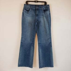 Seven 7 | Womens Flare Distressed Jeans Size 12